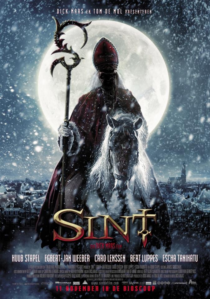 плакат фильма постер Кровавый Санта