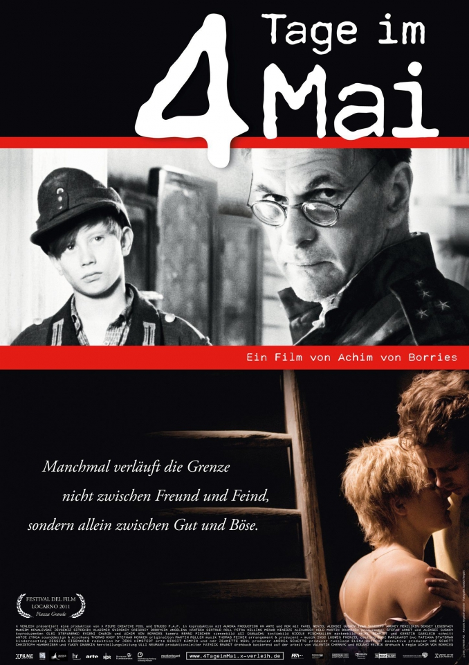 плакат фильма постер 4 дня в мае