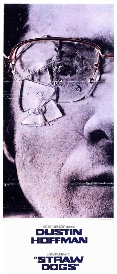 плакат фильма Соломенные псы
