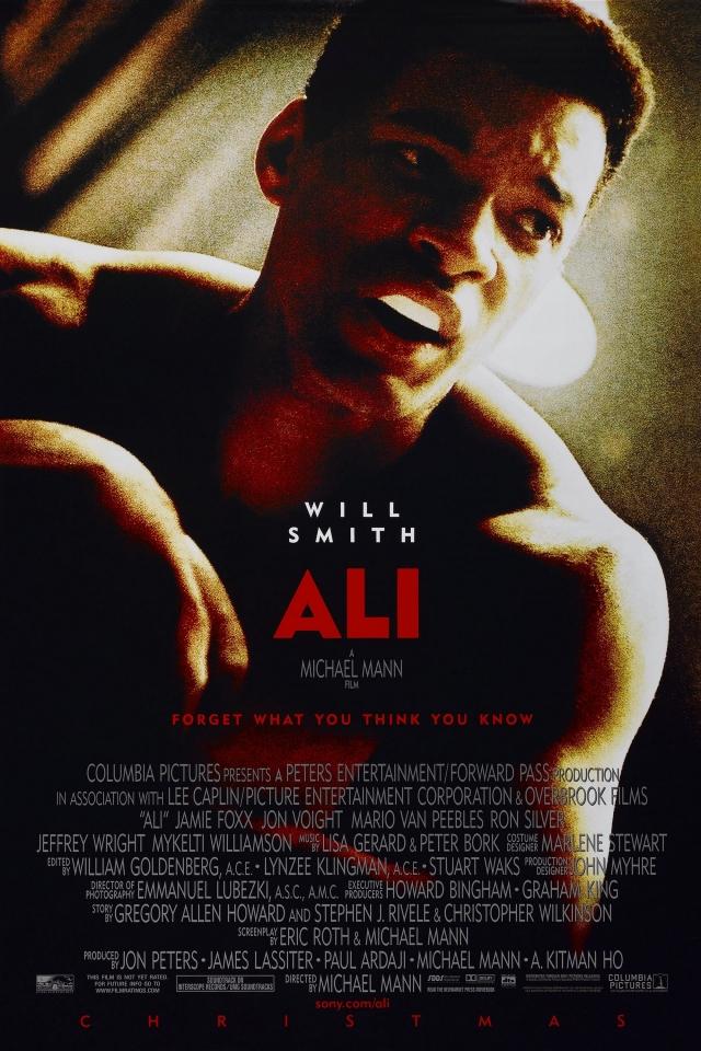плакат фильма Али