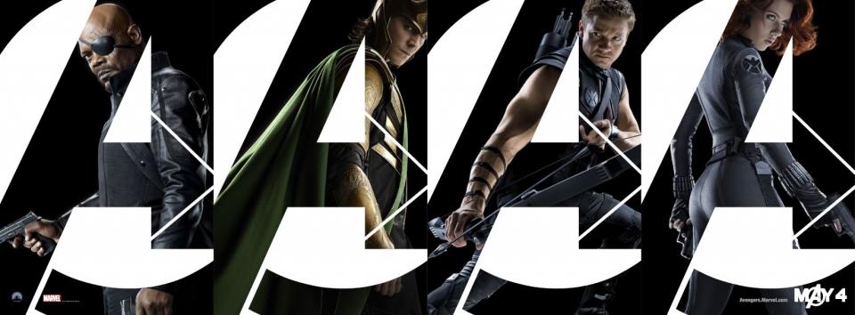 плакат фильма характер-постер баннер Мстители