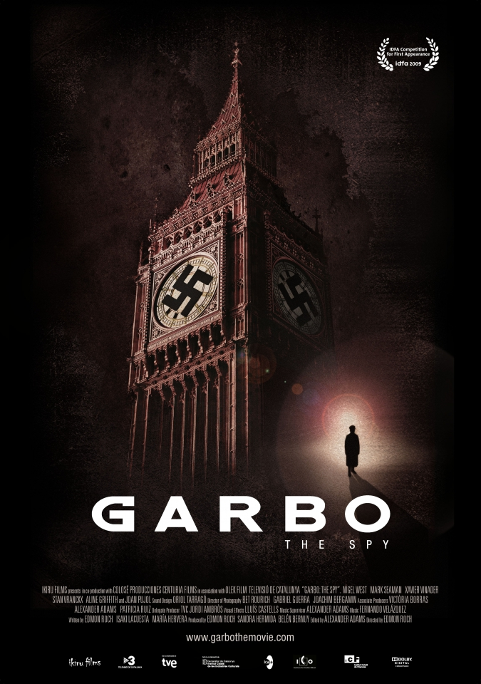 плакат фильма постер Гарбо: Шпион*