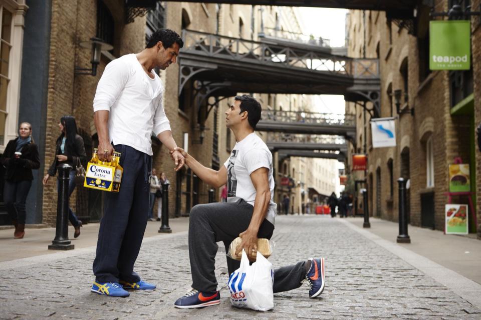 кадры из фильма Индийские мальчики*