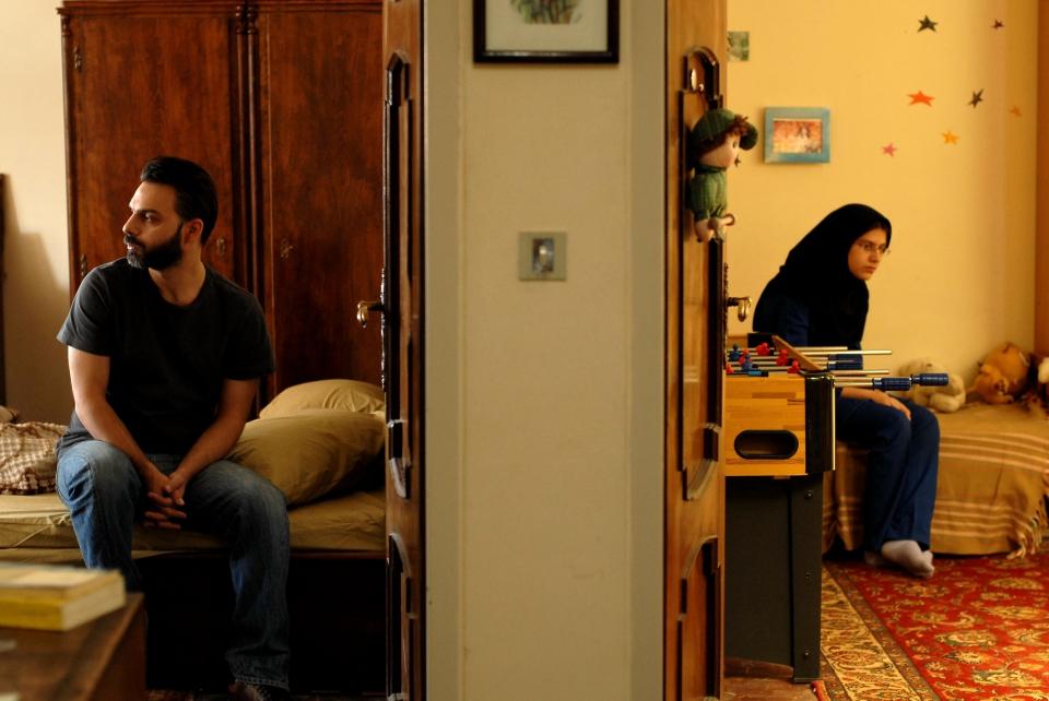 кадры из фильма Развод Надера и Симин
