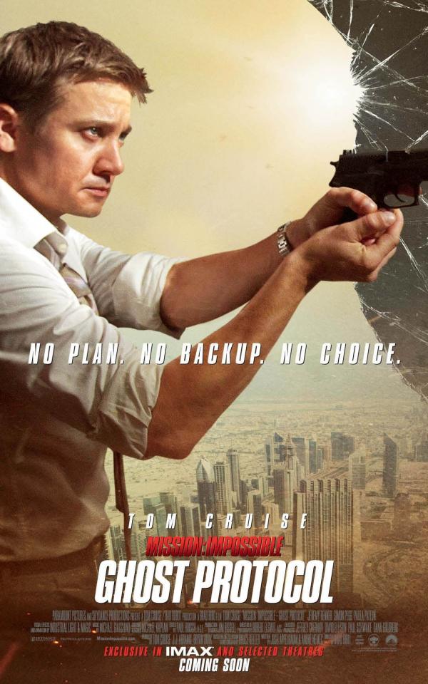 плакат фильма характер-постер Миссия Невыполнима: Протокол Фантом