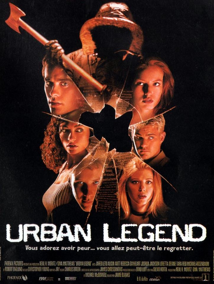 плакат фильма Городские легенды