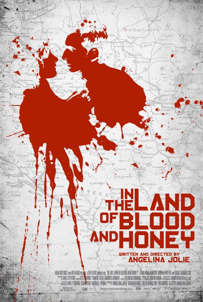 плакат фильма постер В краю крови и меда