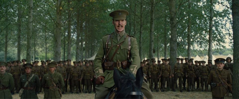 кадры из фильма Боевой конь Бенедикт Камбербатч,