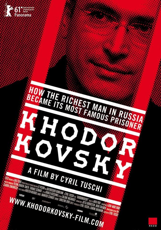 плакат фильма постер Ходорковский