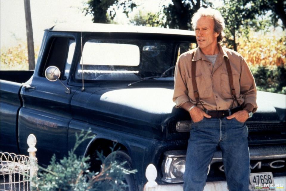 кадры из фильма Мосты округа Мэдисон Клинт Иствуд,