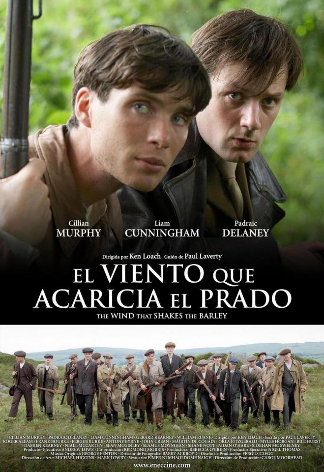 плакат фильма Ветер, который качает вереск