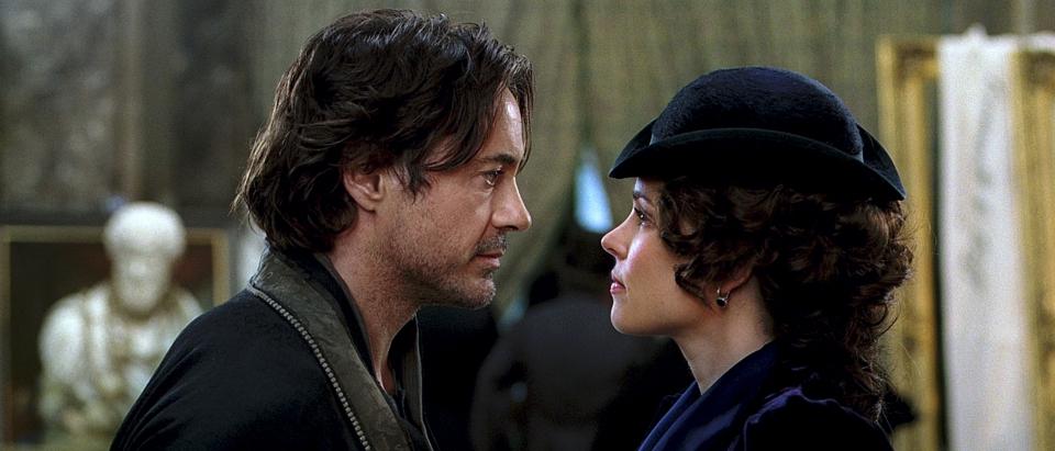 кадры из фильма Шерлок Холмс: Игра теней Роберт Дауни-мл., Рэйчел МакАдамс,