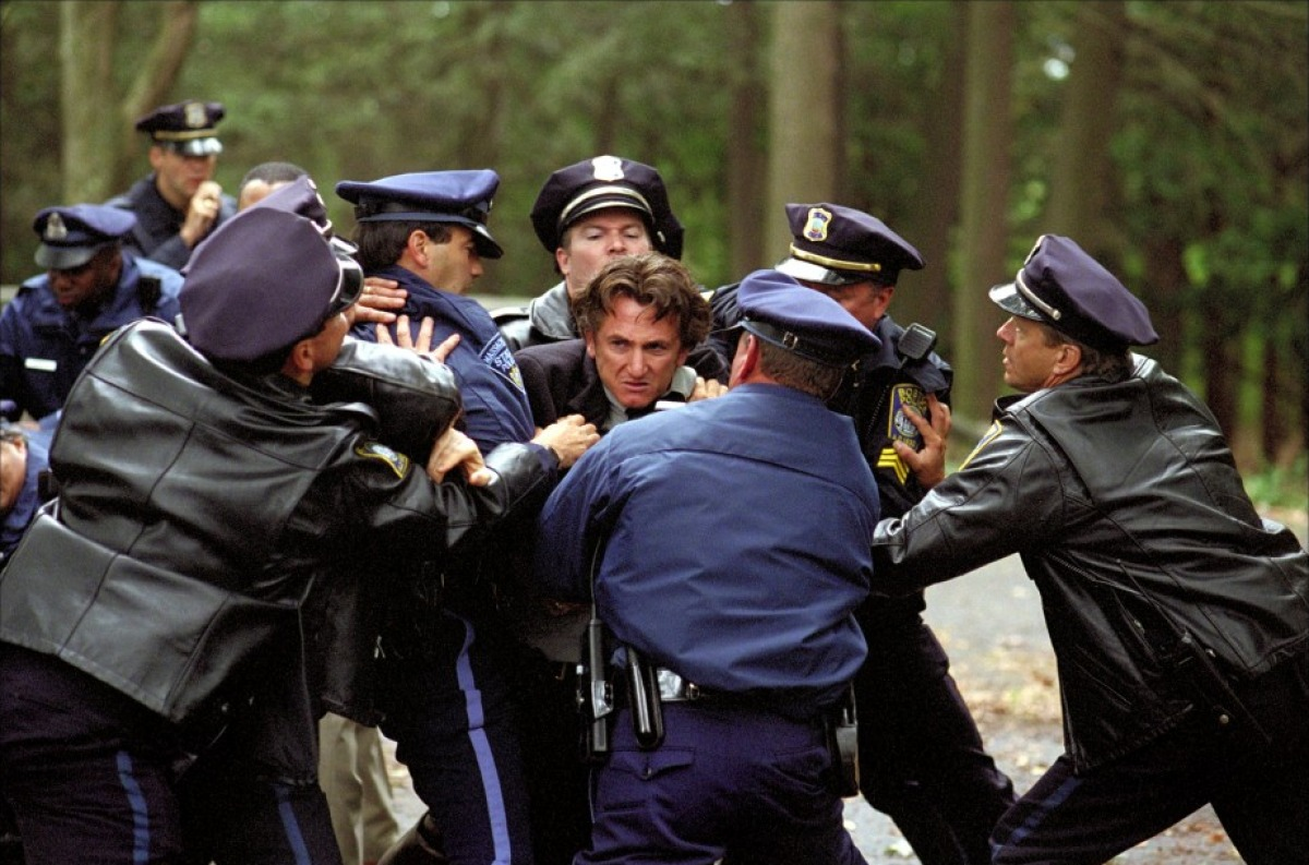 mystic river comparing the book and film Director: clint eastwood starring: sean penn, tim robbins, kevin bacon and others.