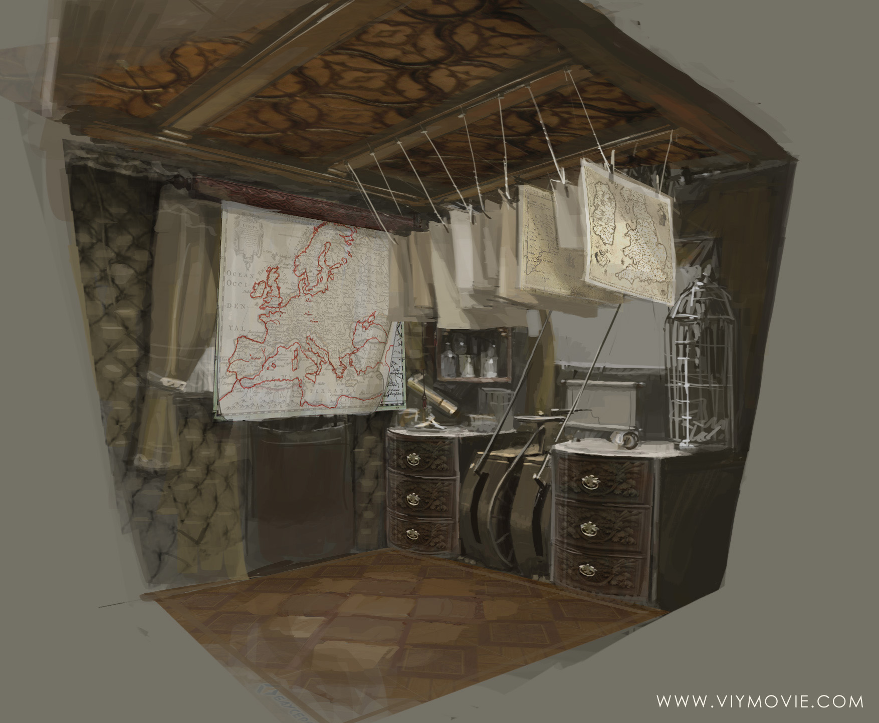 концепт-арты Вий 3D