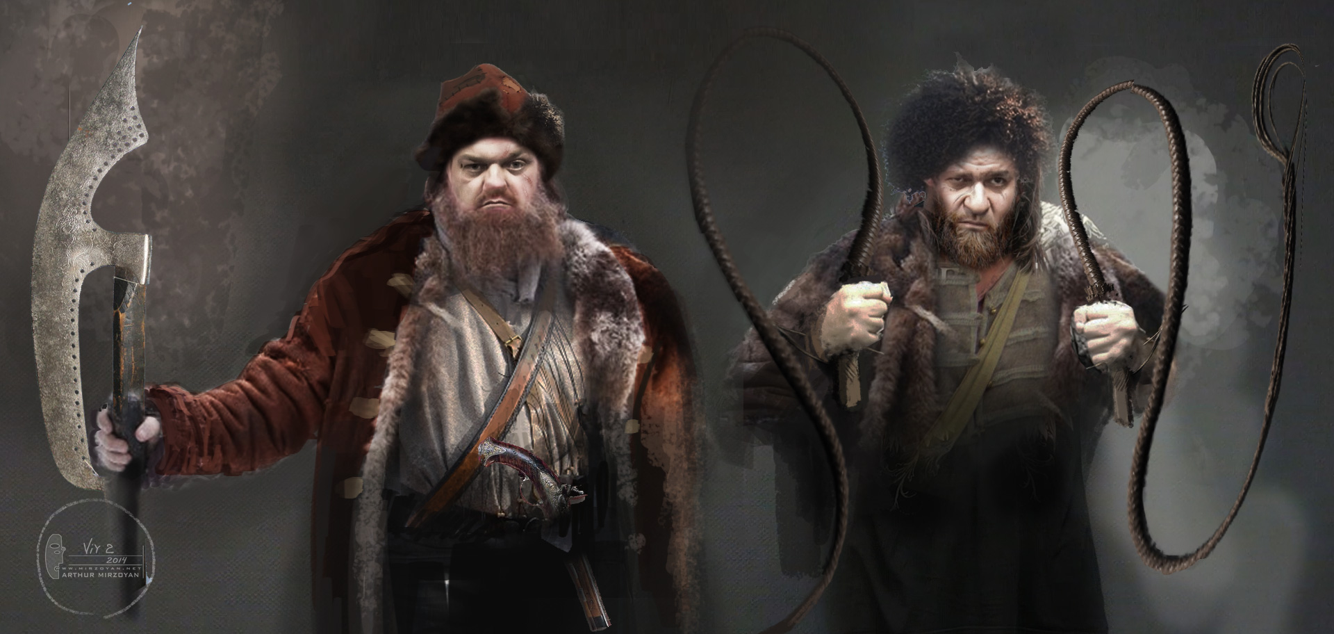 концепт-арты Тайна печати дракона Михаил Мухин, Вилен Бабичев,
