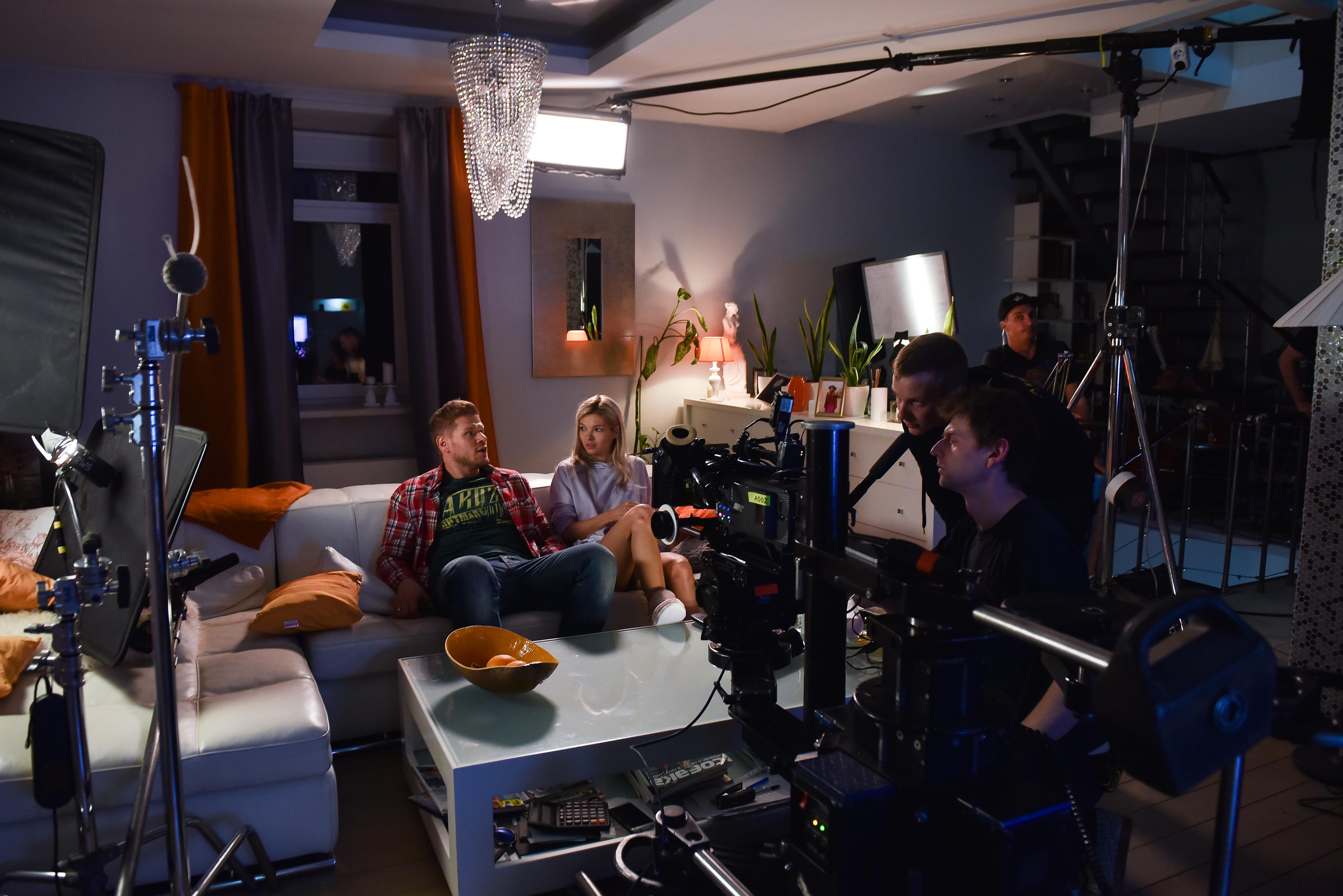 Рабочие моменты съемок, Рабочие моменты съемок промо-ролика программы 5 фотография