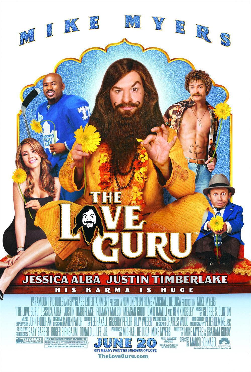 Смотреть онлайн Секс Гуру / The Love Guru (2008) .