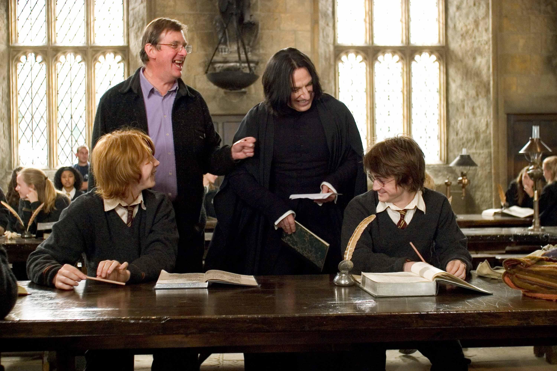 1 - фото со съемок Гарри Поттера.