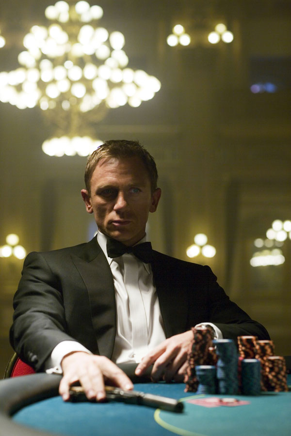 James bond film casino royale