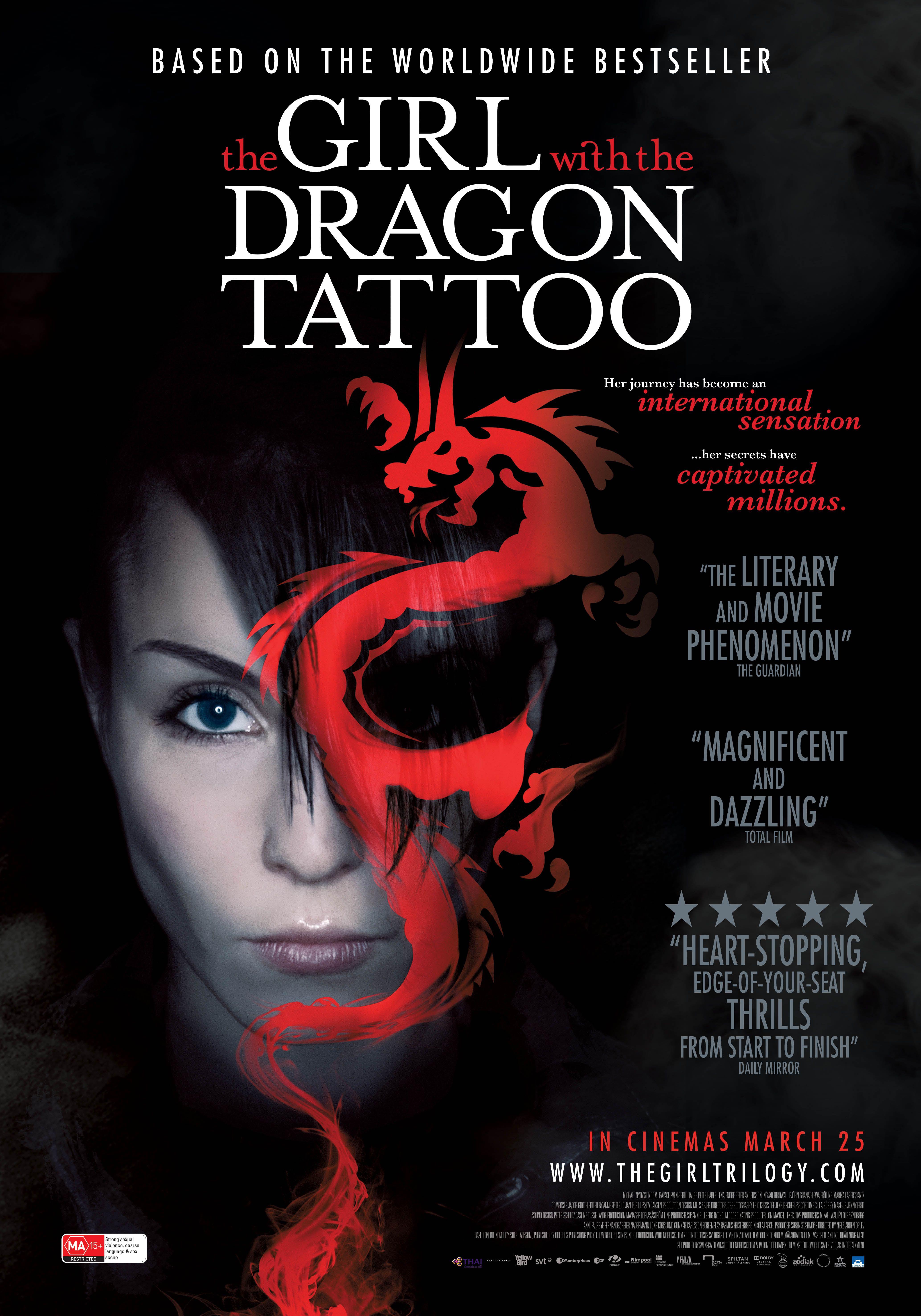 Онлайн фильм Девушка с татуировкой дракона в HD качестве.