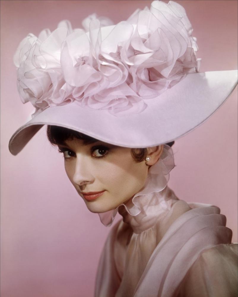 промо-слайды Моя прекрасная леди Одри Хепберн,