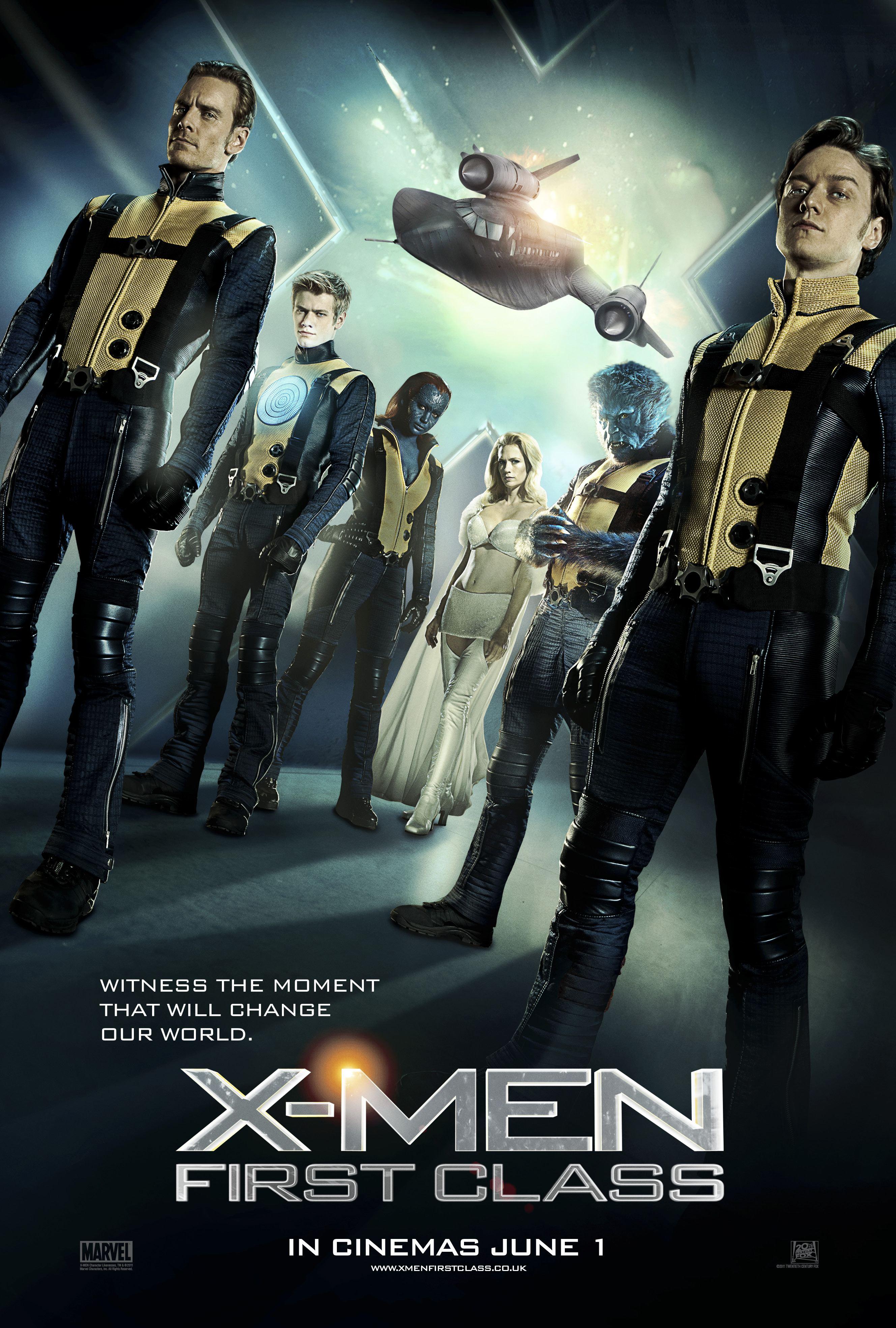 دانلود فیلم X-Men First Class 2011 مردان ایکس بهترین ها با دوبله فارسی و کیفیت عالی
