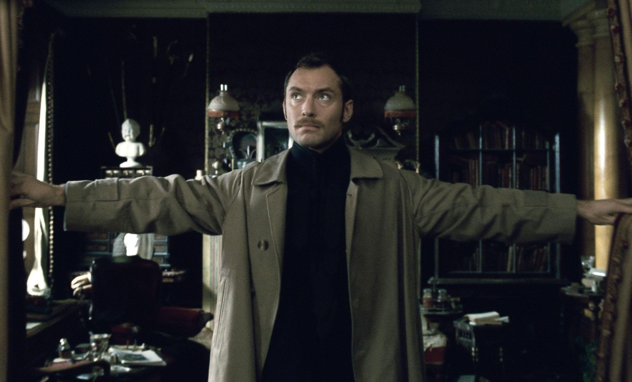 кадры из фильма Шерлок Холмс: Игра теней Джуд Лоу,