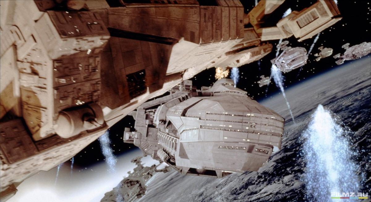 кадры из фильма Звездный десант