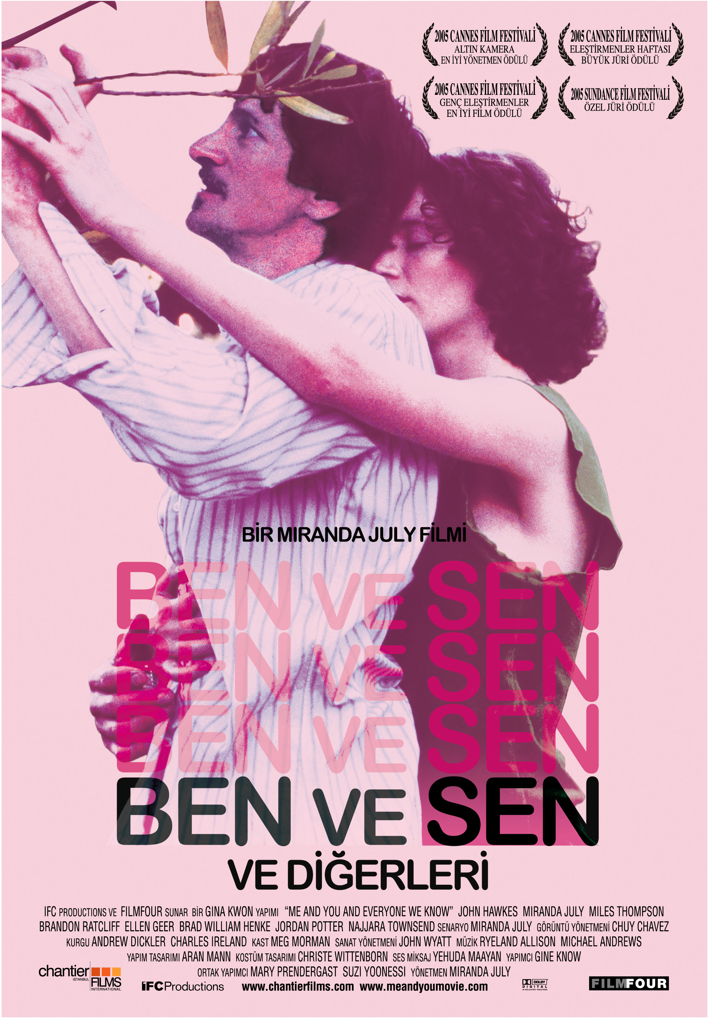 плакат фильма Я, ты и все, кого мы знаем