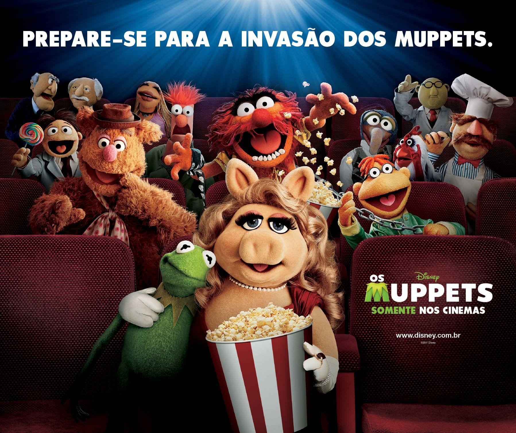 плакат фильма биллборды Маппеты