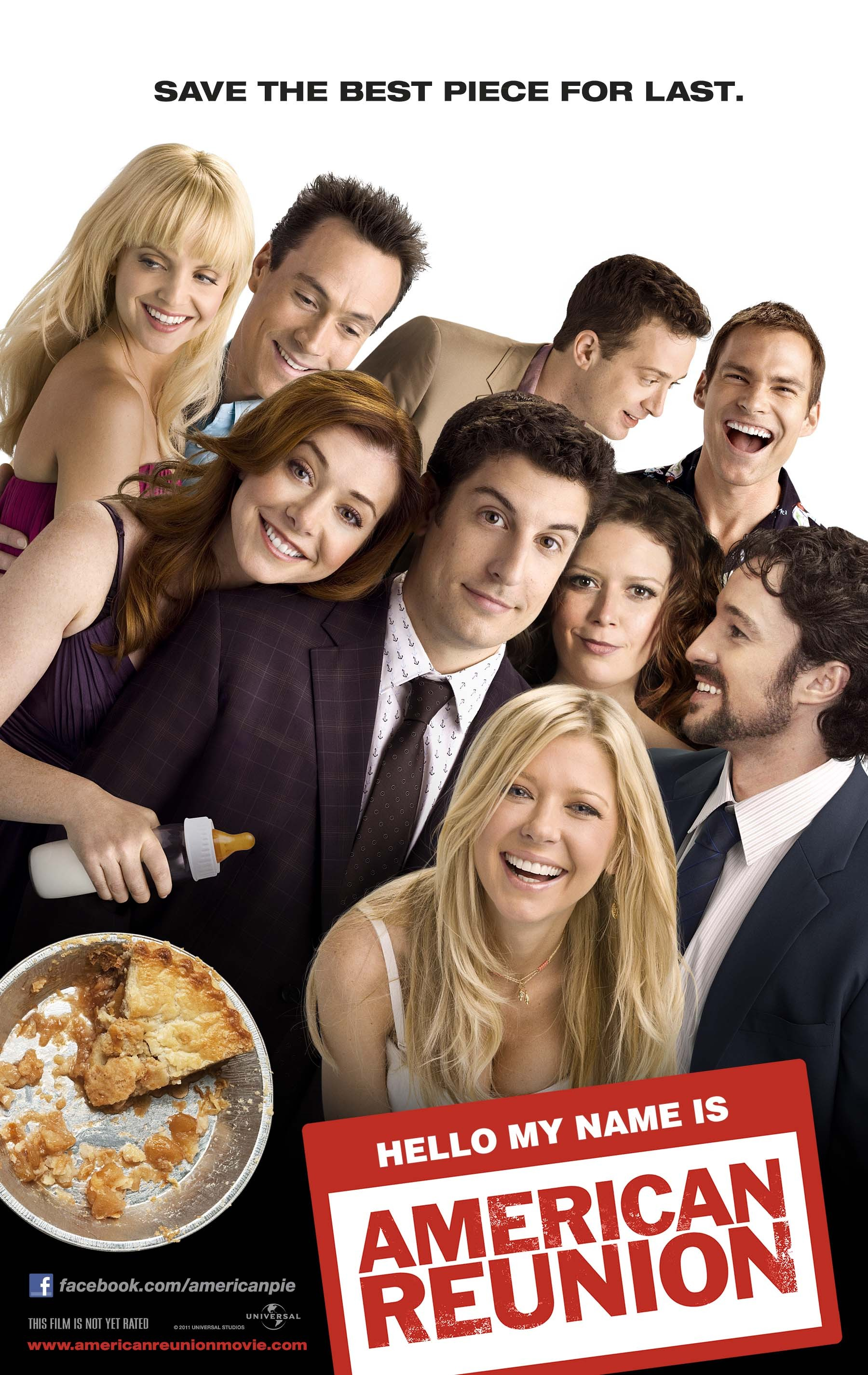 плакат фильма постер Американский пирог: Все в сборе
