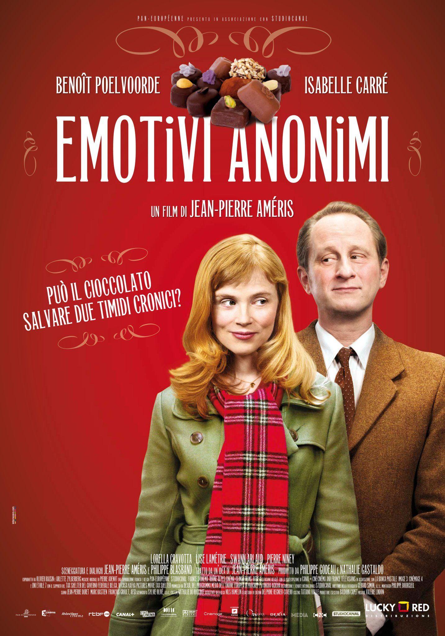 плакат фильма постер Анонимные романтики