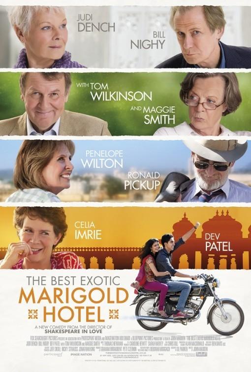плакат фильма постер Отель Мэриголд: Лучший из экзотических