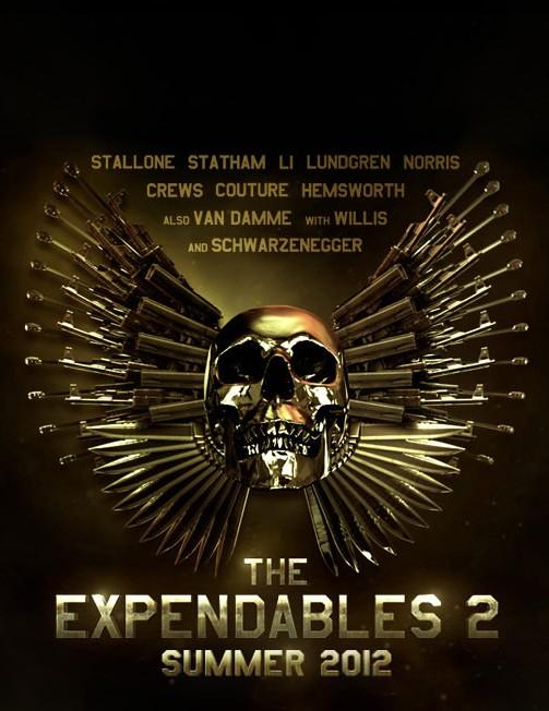 плакат фильма тизер Неудержимые 2
