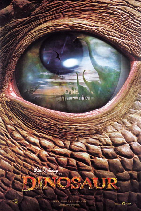 плакат фильма Динозавр