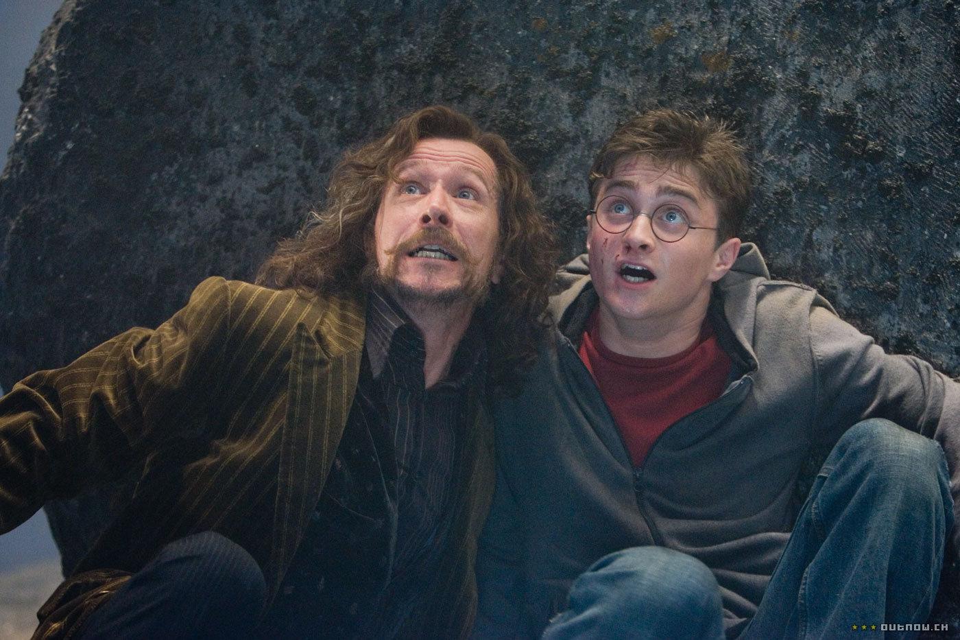 кадры из фильма Гарри Поттер и Орден Феникса Гэри Олдман, Дэниэл Рэдклифф,