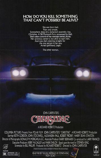 плакат фильма со съемок Кристина