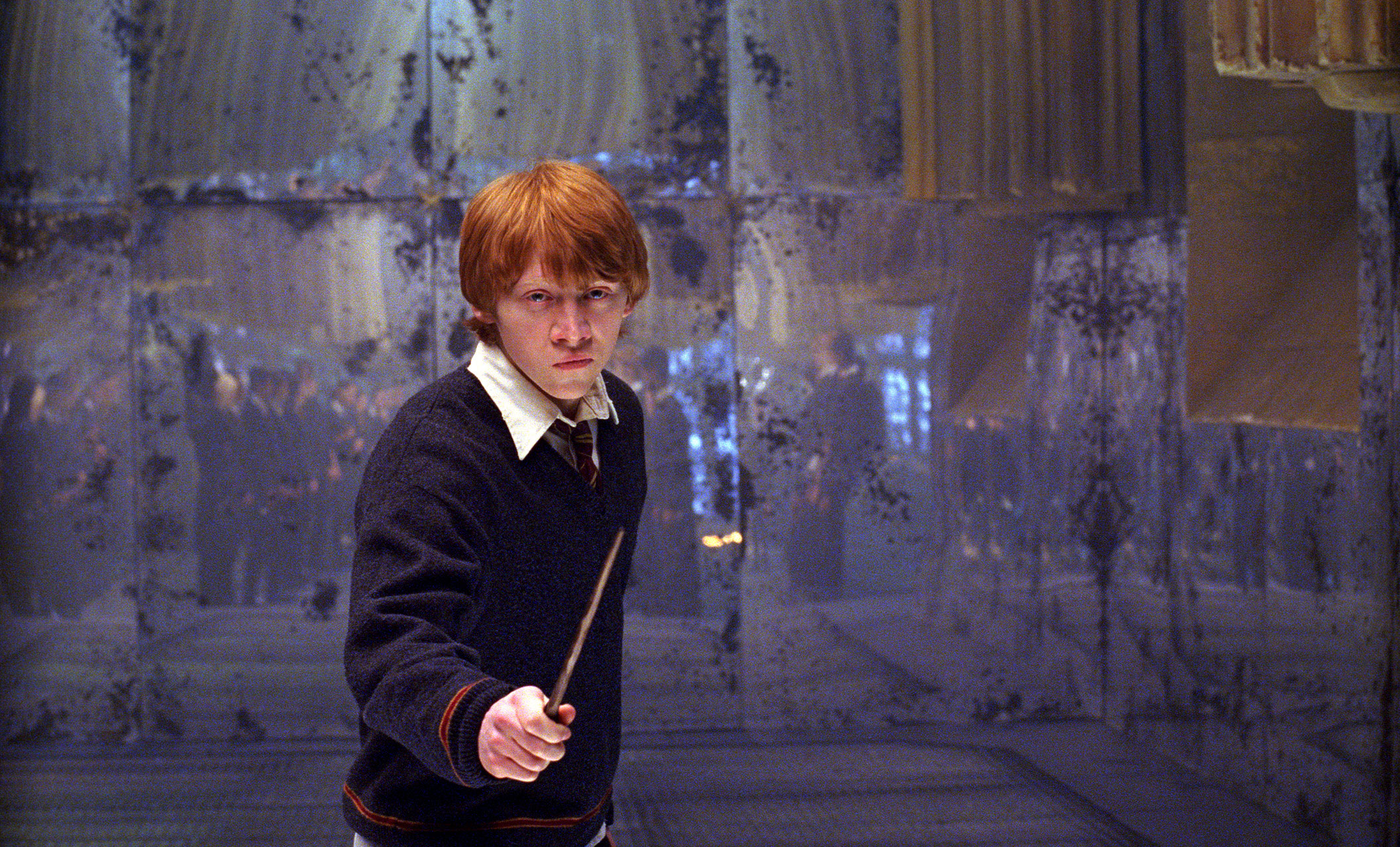 кадры из фильма Гарри Поттер и Орден Феникса Руперт Гринт,