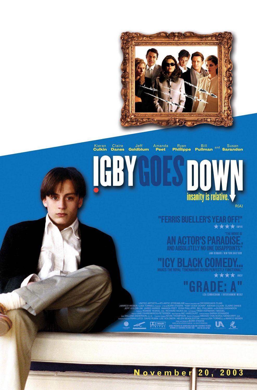 плакат фильма постер Игби идет ко дну