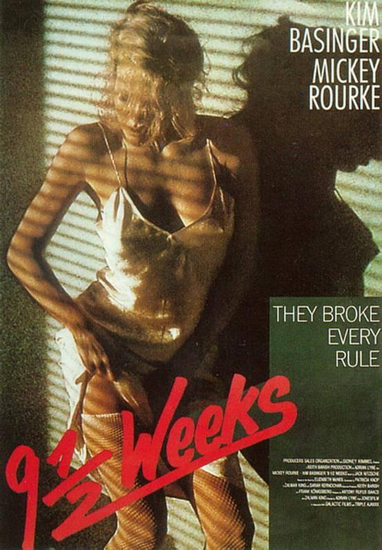 Кино: 9 1/2 недель, 1986