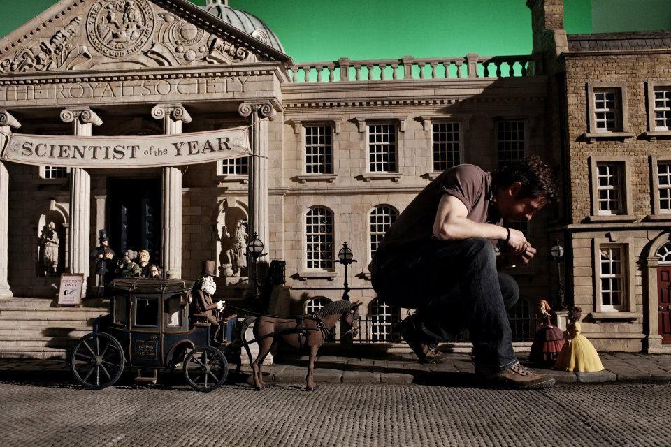 со съемок Пираты: Банда неудачников