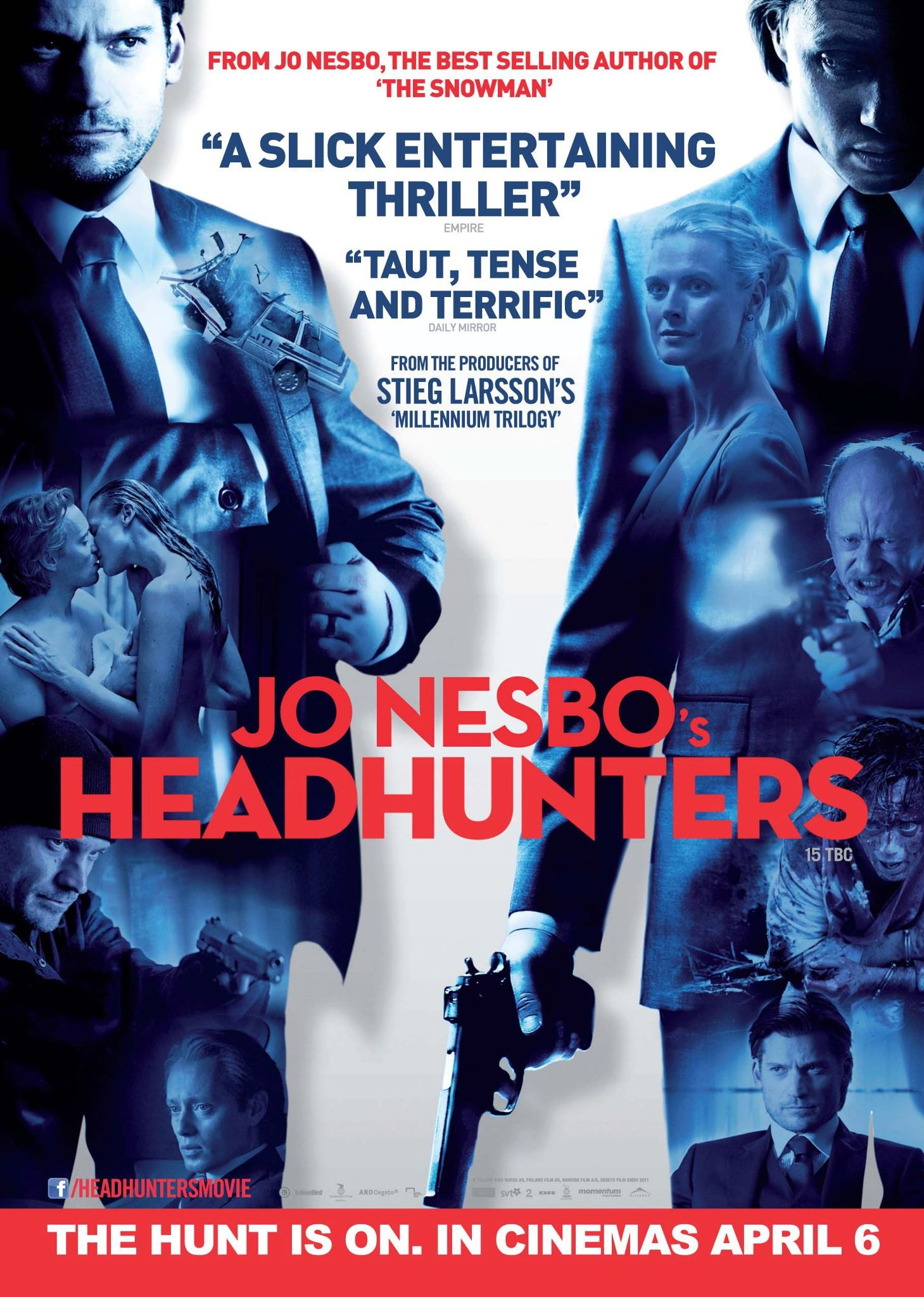 плакат фильма постер Охотники за головами
