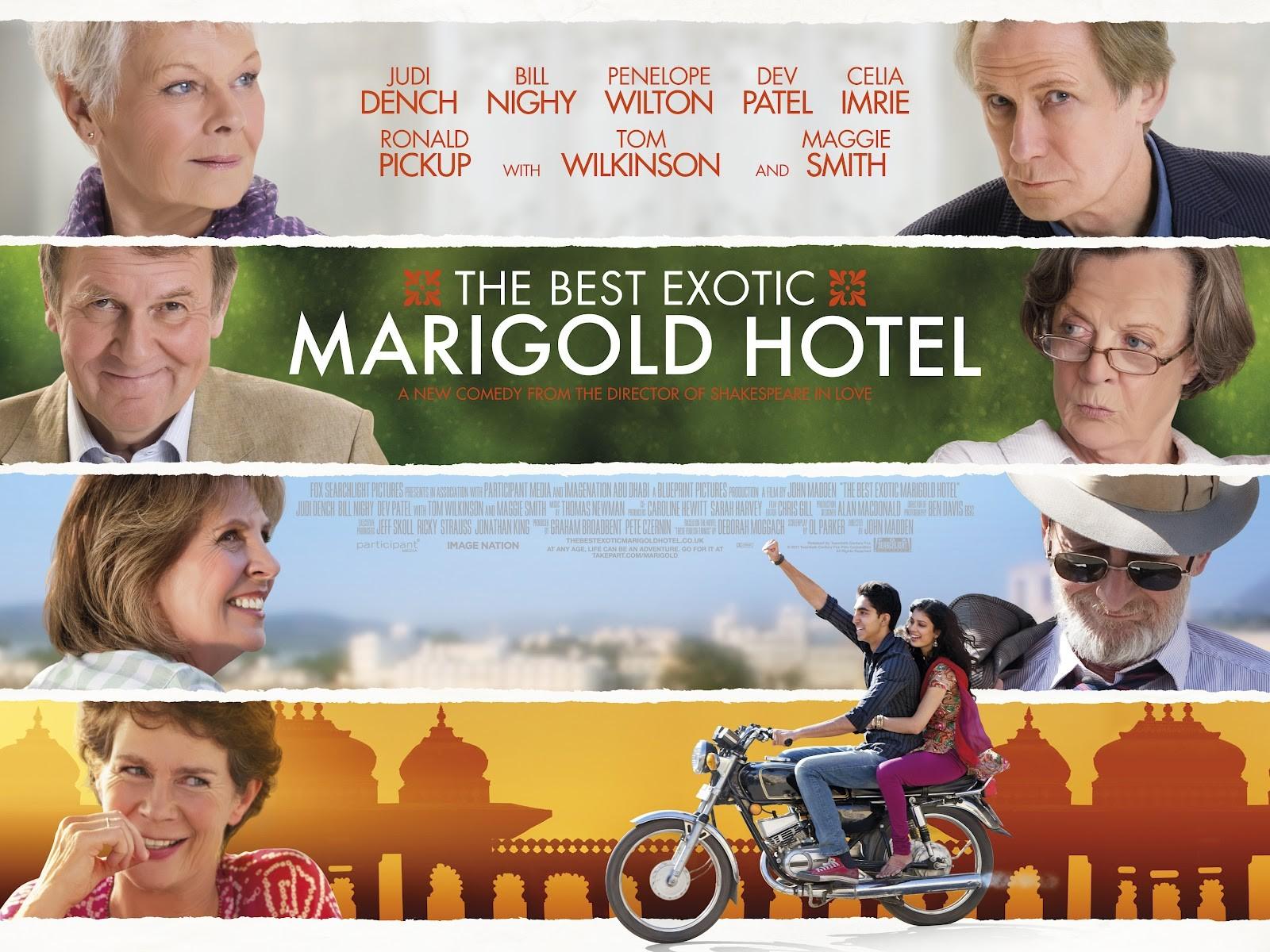 плакат фильма биллборды Отель Мэриголд: Лучший из экзотических
