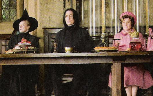 кадры из фильма Гарри Поттер и Орден Феникса Мэгги Смит, Имельда Стонтон, Алан Рикман,