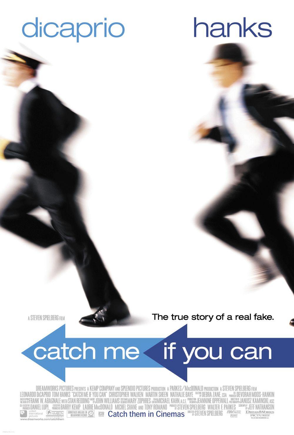 плакат фильма постер Поймай меня, если сможешь