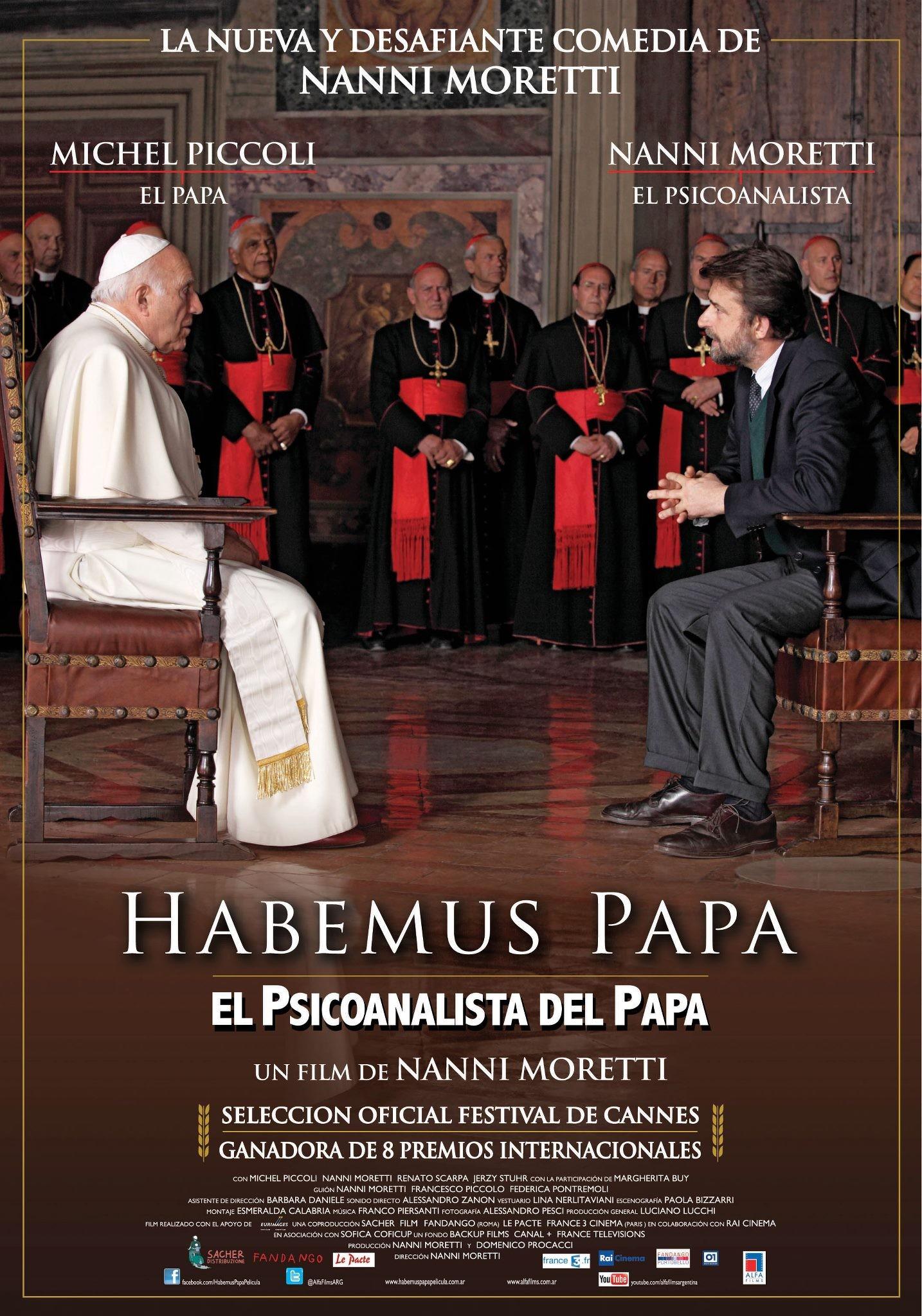 плакат фильма постер У нас есть Папа!