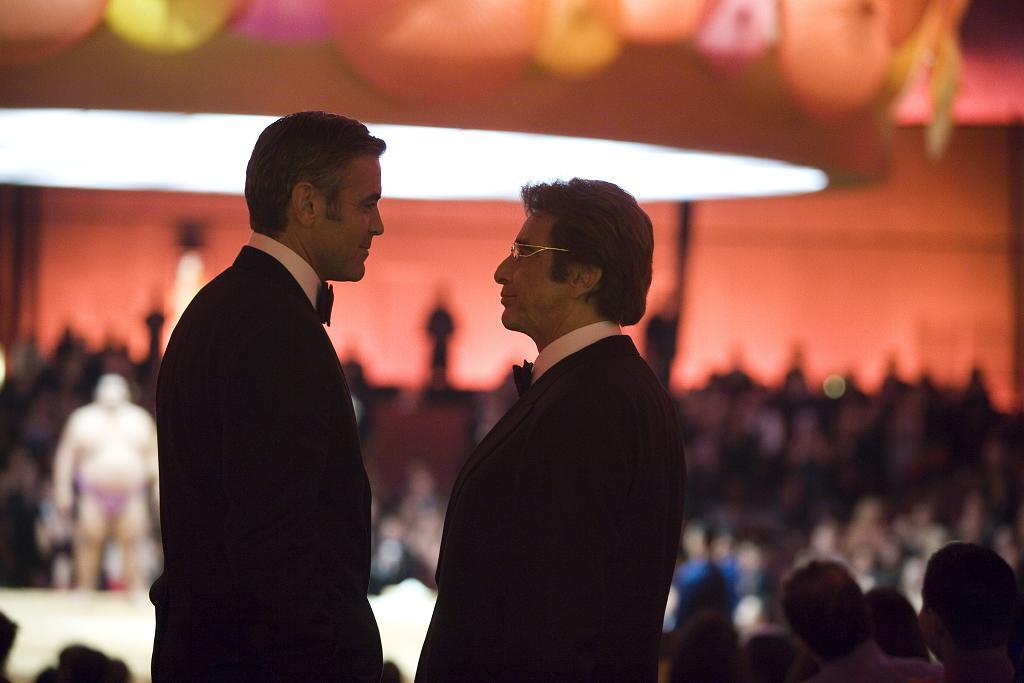 кадры из фильма Тринадцать друзей Оушена Аль Пачино, Джордж Клуни,