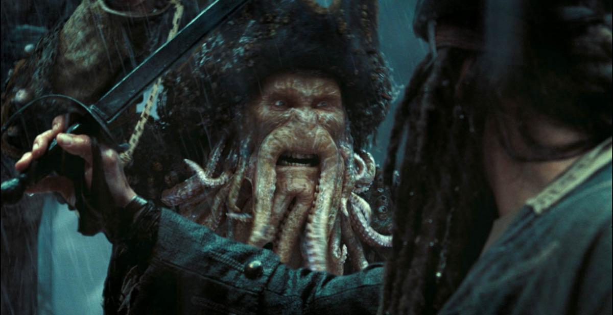 кадры из фильма Пираты Карибского моря: На краю света Билл Найи,