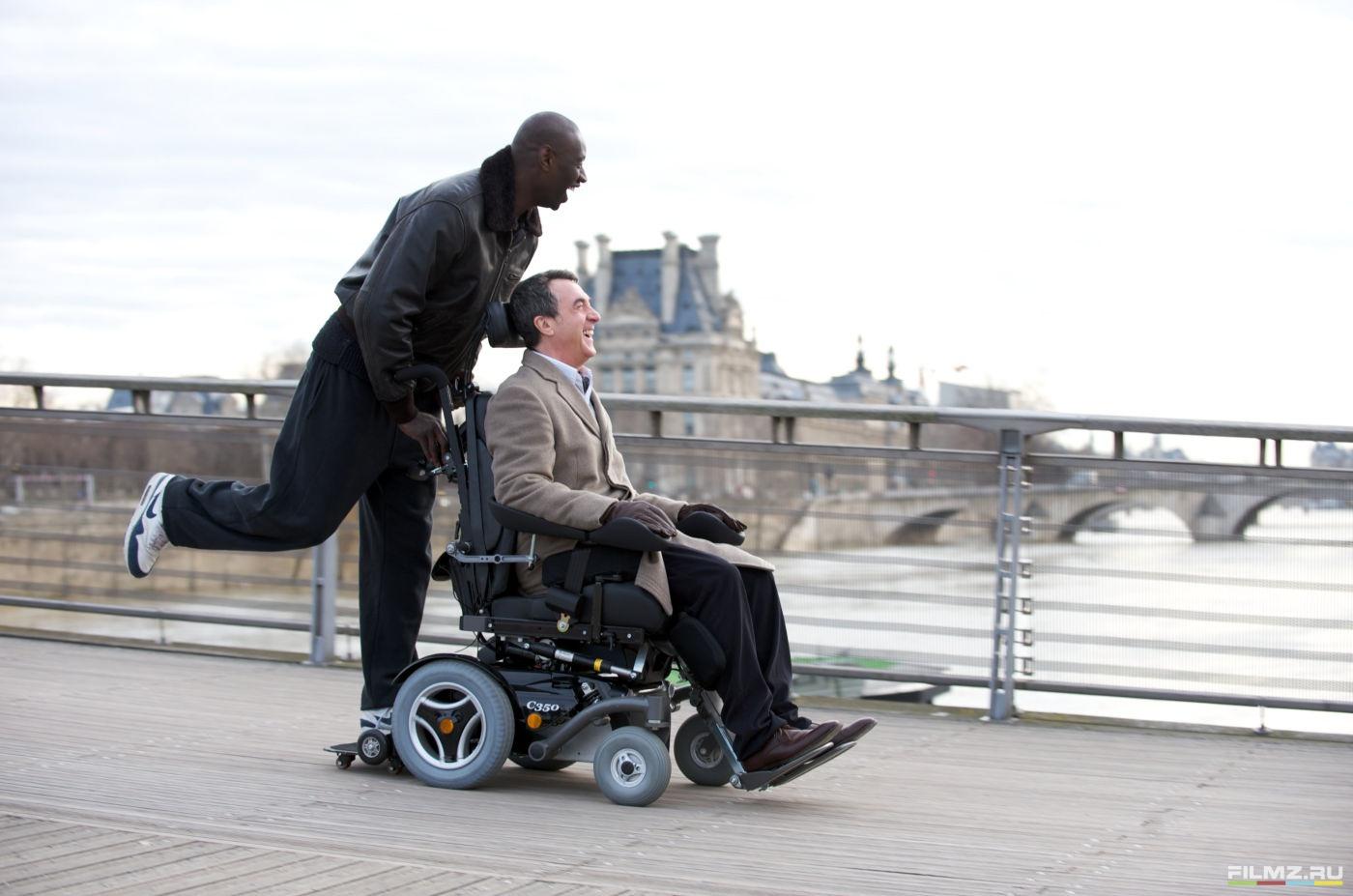 кадры из фильма 1+1 Омар Си, Франсуа Клюзе,