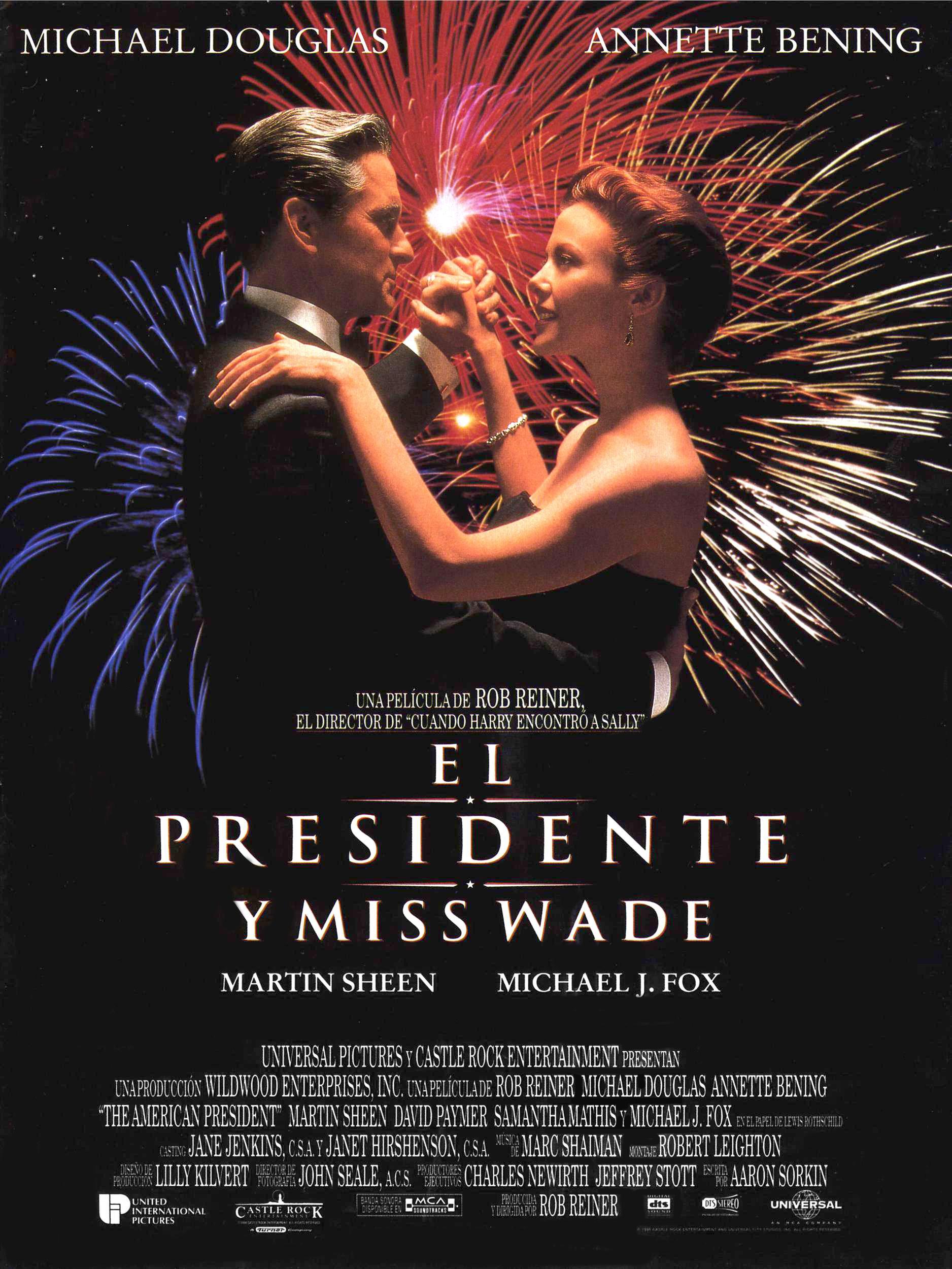 плакат фильма Американский президент